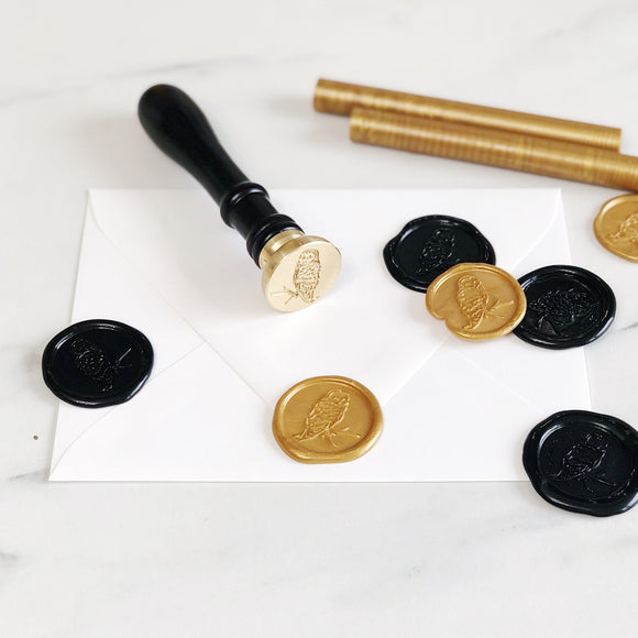 Pre-Assembled Adhesive Wax Seals (set of 25)