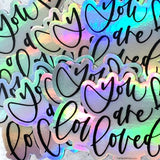bulk pack holographic sticker