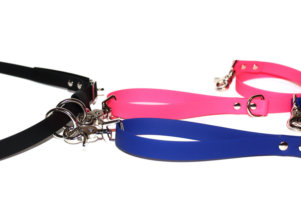 Double Hands-Free • 360° Leashes & Waist Belt