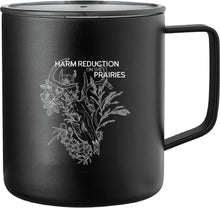 Load image into Gallery viewer, Harm Reduction on the Prairies - Deer Travel Mug