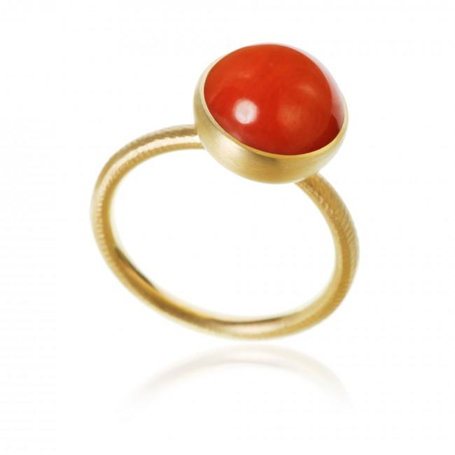 Pacific ring. Large top, with coral.