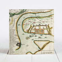 Load image into Gallery viewer, 1711 Map of the Walled City of Charles Towne - Charleston, SC