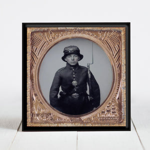 5th New Hampshire Infantry Soldier - Civil War Era