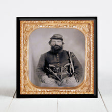 Load image into Gallery viewer, A.J. Blue - Civil War Union Cavalry Soldier