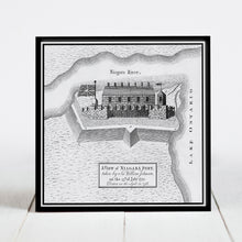 Load image into Gallery viewer, View of Fort Niagara, New York c.1759