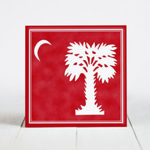 Load image into Gallery viewer, Big Red - The Citadel Flag