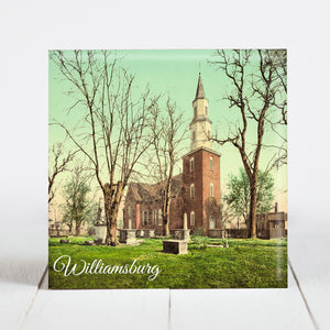 Bruton Parish Church - Williamsburg, VA c1902