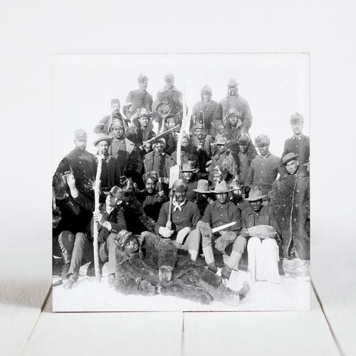 Buffalo Soldiers - 25th Infantry - Ft. Keogh, Montana c.1889