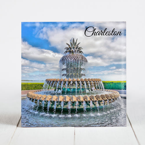 Pineapple Fountain - Charleston, SC
