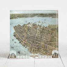 Load image into Gallery viewer, 1872 Map of Charleston, SC