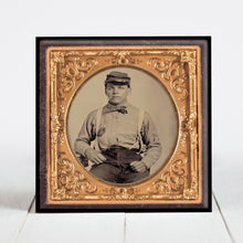 Load image into Gallery viewer, Civil War Soldier with Cigar