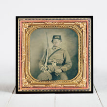 Load image into Gallery viewer, Confederate Pvt. David M. Thatcher - 1st Virginia Cavalry c.1863