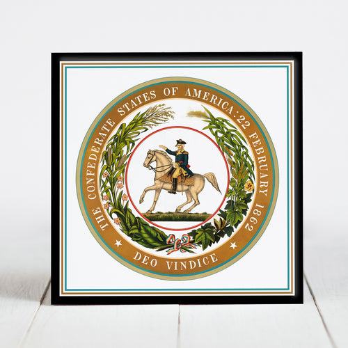 Confederate States of America Seal - Civil War Era