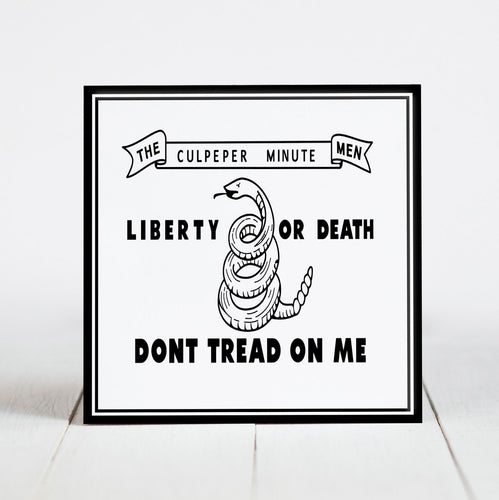 Flag of the Culepeper Minutemen