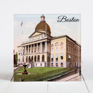 The Massachusetts State House - Boston, Massachusetts