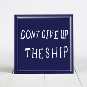 Don't Give Up the Ship - Perry Flag