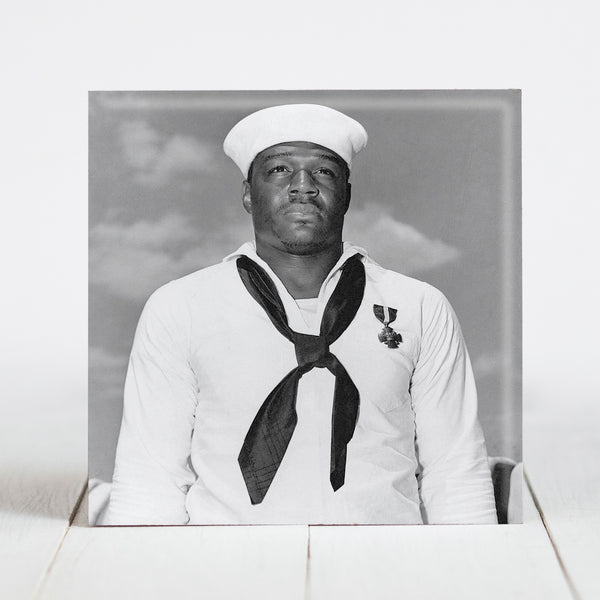 "Doris ""Dorie"" Miller - awarded Navy Cross for Heroism at Pearl Harbor"