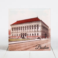 The Boston Public Library c.1900 - Boston, Massachusetts