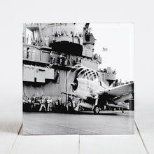Load image into Gallery viewer, F6F Hellcat on the USS Yorktown c.1943