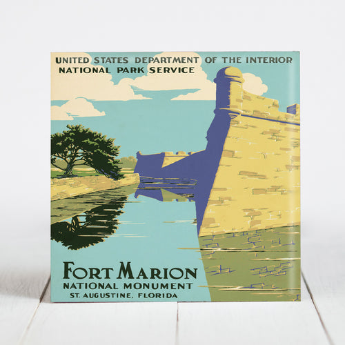 Fort Marion National Monument - St. Augustine, Florida c.1938