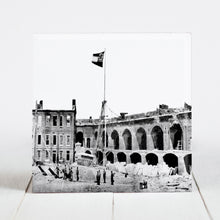 Load image into Gallery viewer, Rebel Flag flown over Fort Sumter April 14, 1861