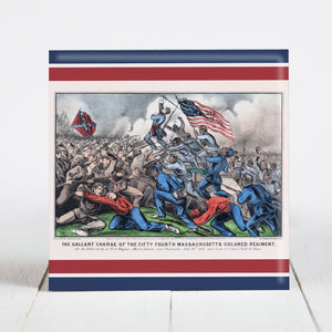 Gallant Charge of the 54th Massachusetts (US Colored Troops) - Civil War Era