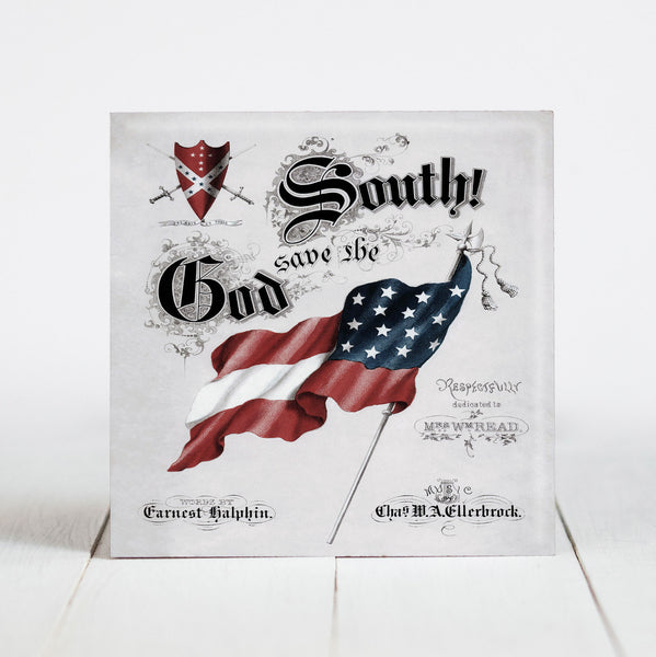 Copy of God Save the South - Confederate Flag c.1863