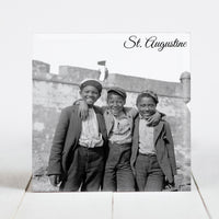 Group of Happy Boys at St. Augustine, FL c.1902