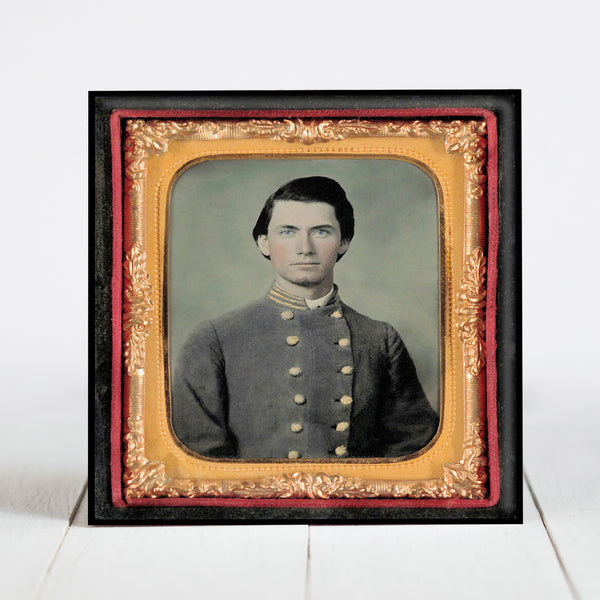 Confederate Major Thomas Martin, 13th North Carolina Company E - Civil War Era