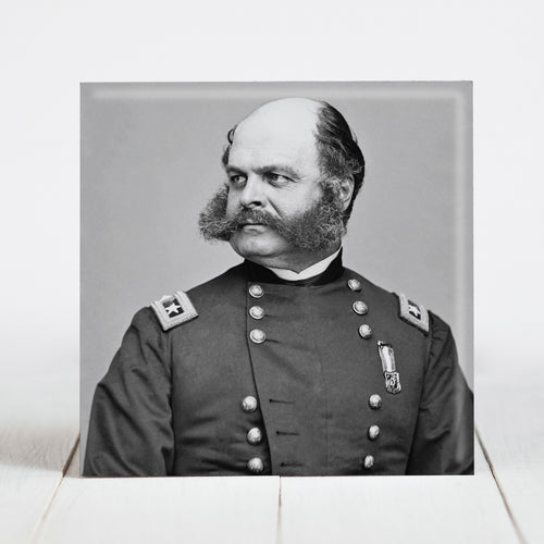 Union Major General Ambrose Burnside c.1865