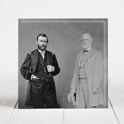 Union General Ulysses S. Grant and Confederate General Robert E. Lee - Civil War Era