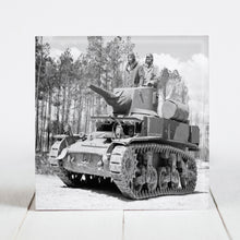 Load image into Gallery viewer, Marines in Training on Tank - Camp Lejeune, North Carolina c.1943