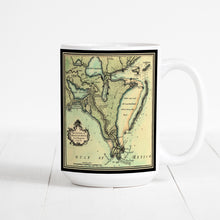 Load image into Gallery viewer, 1720 Map of New Orleans and the Mississippi River