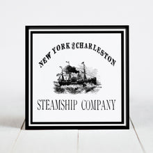 Load image into Gallery viewer, New York & Charleston Steamship Company  c.1800s