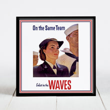 Load image into Gallery viewer, WAVES Recruitment Poster