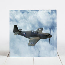 Load image into Gallery viewer, P-51 Mustang Fighter Plane c.1942