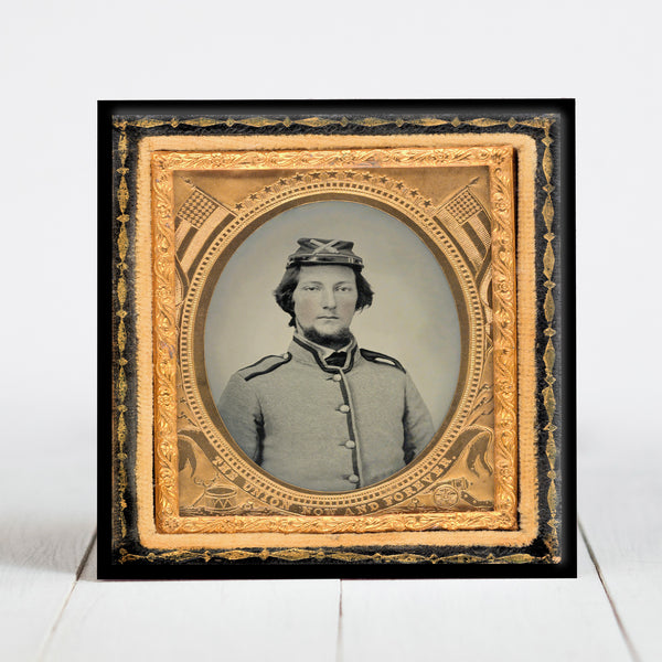 Pvt. Joseph C. Caldwell of Co. A, 23rd Ohio Infantry - Civil War Era