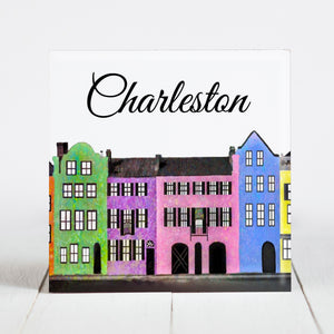 Rainbow Row, Daytime - Charleston, SC