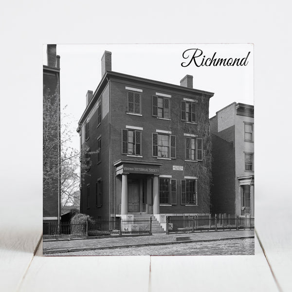 Residence of Confederate General Robert E. Lee - Richmond, VA c.1861-65