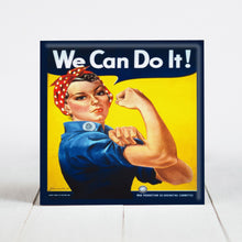 Load image into Gallery viewer, Rosie the Riveter - We Can Do It c.WW2