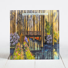 Load image into Gallery viewer, Rustic Bridge in Cypress Gardens, South Carolina