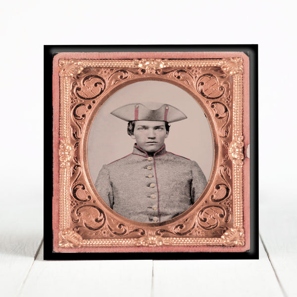 Sergeant Samuel Cole Wright of Co. E, 29th Massachusetts Infantry Regiment