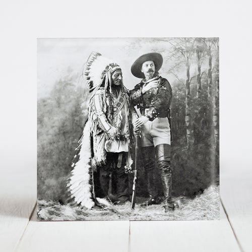 Sitting Bull and Buffalo Bill c.1897