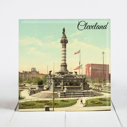 Soldiers and Sailors Monument - Cleveland, OH c.1900