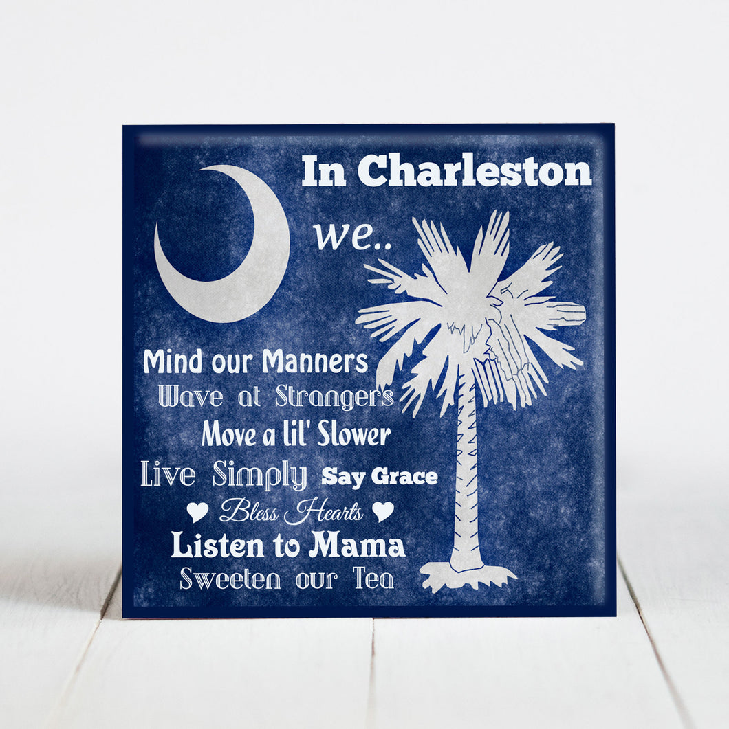 In Charleston We... Southern Phrases