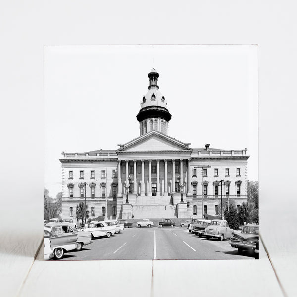 South Carolina State House Capitol Square, Columbia c1960