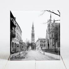 Load image into Gallery viewer, St. Philip's Church and French Huguenot Church - Charleston, SC c.1910