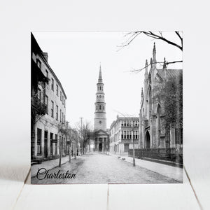 St. Philip's Church and French Huguenot Church - Charleston, SC c.1910