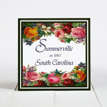 Load image into Gallery viewer, Summerville Floral Border