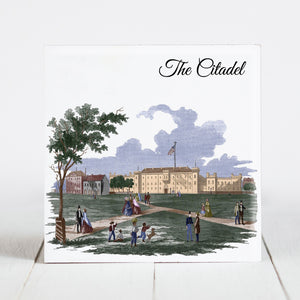 The Citadel on Marion Square c1857